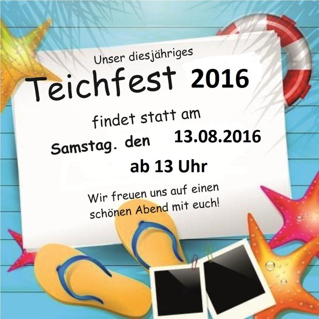Teichfest-Flayer-2016